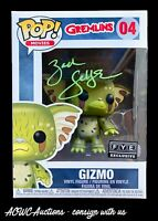 Funko POP! - Gremlins - Gizmo (as Gremlin - FYE) - Signed Zach Galligan - JSA