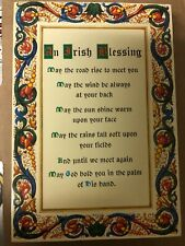 An Irish Blessing POST CARD. LOT OF 20. GREAT GIFT OR GREETING CARD