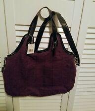 Liz Claiborne Battery Park Amethyst Tote bag Handbag Purse NWT MSRP $108