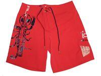 Polo Ralph Lauren RLX Mens Red Swim Trunk Scorpion Logo Board Shorts NWT M