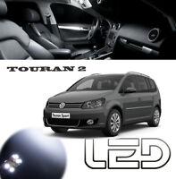 TOURAN 2 Pack 9 Ampoules LED SMD Blanc éclairage Plafonnier habitacle Coffre