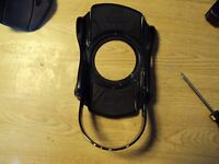 lamar MX250 right side boot Baseplate assembly snowboard binding part black base