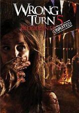 024543824824 Wrong Turn 5 Bloodlines With Camilla Arfwedson DVD Region 1
