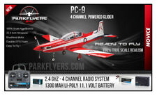 PC-9 RC RTF 4 Channel Powered Glidder Plane 20A Brushless Li-poly Swiss Pilatus