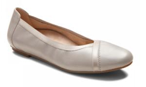 Vionic Caroll Ballet Flat Light Grey Comfort Shoe Women's sizes 5-11 NEW!!!!
