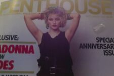 MADONNA COVER AND FEATURE/ PENTHOUSE MAGAZINE/ HER EARLY NUDE PHOTOS/ 1987