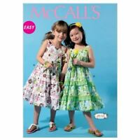 McCalls Sewing Patterns 6543 Childs Girls Dress Size 2-5 CDD