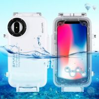 Funda protección buceo resistente al agua 40 m para Apple iPhone X MEC-34
