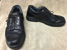 Mephisto Black Leather Gore-Tex Athletic Shoes Men's 9.5