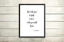 SEX AND THE CITY -CARRIE BRADSHAW QUOTE PRINT A4 ONLY