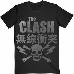 THE CLASH SKULL & CROSSBONES T-Shirt New ORIGINAL