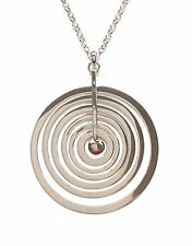 "Tapio Wirkkala Finland - Sterling Silver Bigger Pendant with Chain ""Silver Moon"""