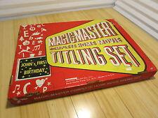 Magic Master Complete Home Movie Titling Set 50 or 60s Vintage Sign Making