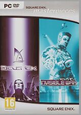 DEUS EX and DEUS EX INVISIBLE WAR.PC 2 COMPLETE GAMES. SHIPS FAST and SHIPS FREE