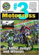 Motocross MX Instructional Jumping Techniques DVD #3 from VO2 by Gary Semics