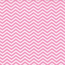 Moda Surrounded by Love Deb Strain Sweet Pink Chevron Girls Fabric Fat Quarter