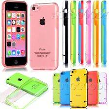 Slim Transparent Crystal Clear Hard TPU Cover Case for Apple iPhone 5C