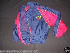 JEFF GORDON #24 NASCAR Windbreaker Jacket Medium Made by WINNERS CIRCLE