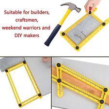 Angle Ruler Layout Amenitee Multi-Angle Measuring Ruler Tool Template Carpenter