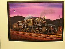 Erie Railroad  L1 Class Mallet  by artist Railroad Archives TI