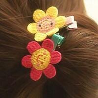 7pcs Enfants Bébé Fille Épingle Cheveux Pince Clip Coiffure Barrette Accessoire