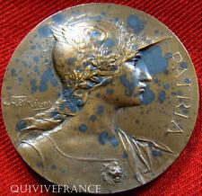 MED2764 - MEDAILLE SOCIETE DE JURISPRUDENCE TOULOUSE1912 RIVET - FRENCH MEDAL