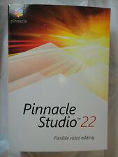 PINNACLE STUDIO 22 FLEXIBLE VIDEO EDITING PC PNST22STEFAMC BRAND NEW
