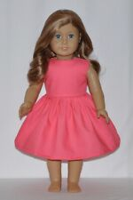 Perfect Pink Color Doll Dress Clothes Fits American Girl Dolls