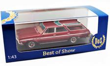 Buick Sport Wagon met.-dkI.-rot  1:43 43360 Bos Models