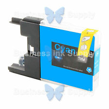 1 CYAN LC71 LC75 NON-OEM Ink for BROTHER MFC-J430W LC-71 LC-75 LC71C LC75C