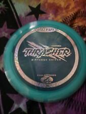 New First Run Discraft Z Thrasher 170-172 Gram Blue Golf Disc