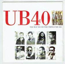 "UB 40 Vinyl 45 tours SP 7"" THE WAY YOU DO THE THINGS YOU DO - VIRGIN 90637 RARE"