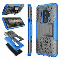 Case For Samsung Galaxy S9 Plus / S9 Shockproof Hard Phone Cover With Kickstand