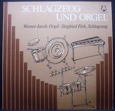 LP Werner Jacob/Siegfried Fink-percussioni U. Orgel, Hambraeus, Beyer, Gümbel