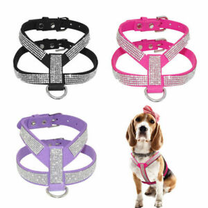 XXS/XS Small Teacup Chihuahua Dog Harness Soft Vest Leather for Maltese Kitten