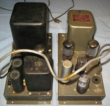 Heathkit W3M  Amplifier with Acrosound TO-300 output transformer. Works