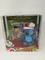 Holiday Mischief With Stitch Book And Poseable Plush Disney Parks NIB Lilo