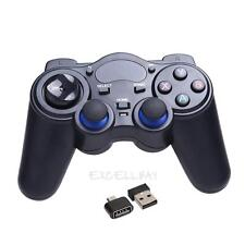 2.4G Wireless Game Gamepad Joystick for Android 2.3+ TV Box Tablets PC Windows