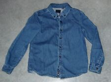 INDIE BY INDUSTRIE BOYS SOFT DENIM SHIRT SZ 5
