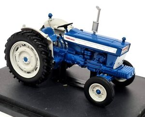 Hatchette 1/43 Scale - Ford 5000 1964 Blue Diecast & Plastic model tractor