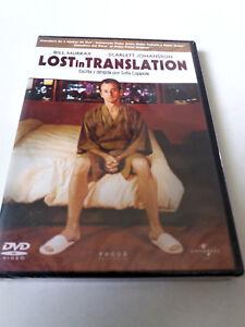 "DVD ""LOST IN TRANSLATION"" PRECINTADO SEALED SOFIA COPPOLA SCARLETT JOHANSSON"