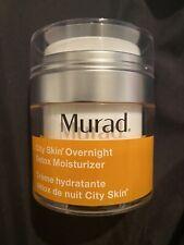 Murad City Skin Overnight Detox Moisturizer - 1.7oz/50ml. New. No Box. Free Ship