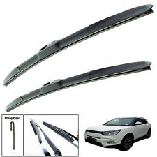 "Ssangyong Tivoli 2015-on hybrid wiper blades set of front 24"" 16"""