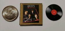 Miniature record album Barbie Gi Joe 1/6 Playscale Queen Mercury Greatest Hits