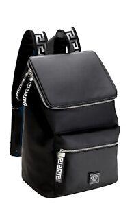 Versace Parfums Backpack Collector 2021(Black/Silver) weekend gym camp travel