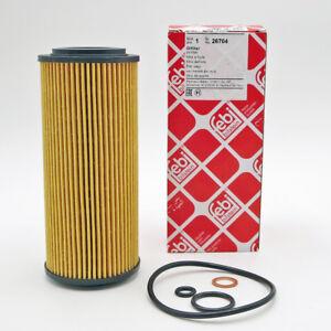Febi Bilstein Ölfilter Filtereinsatz BMW 3er E46 E90 E91 E92 5er E60 E61 X3 X5
