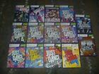 KINECT Dance Games (Microsoft Xbox 360) Just Central + More Tested Works Choose