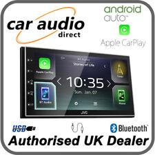 "JVC KW-M741BT 6.8"" Multimedia Receiver USB Bluetooth CarPlay AndroidAuto Spotify"