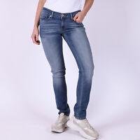 Levi's 524 Skinny hellblau Damen Jeans W28 L32