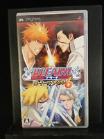PSP Bleach Heat the Soul - PSP Playstation Portable - 2009 - Japan Import